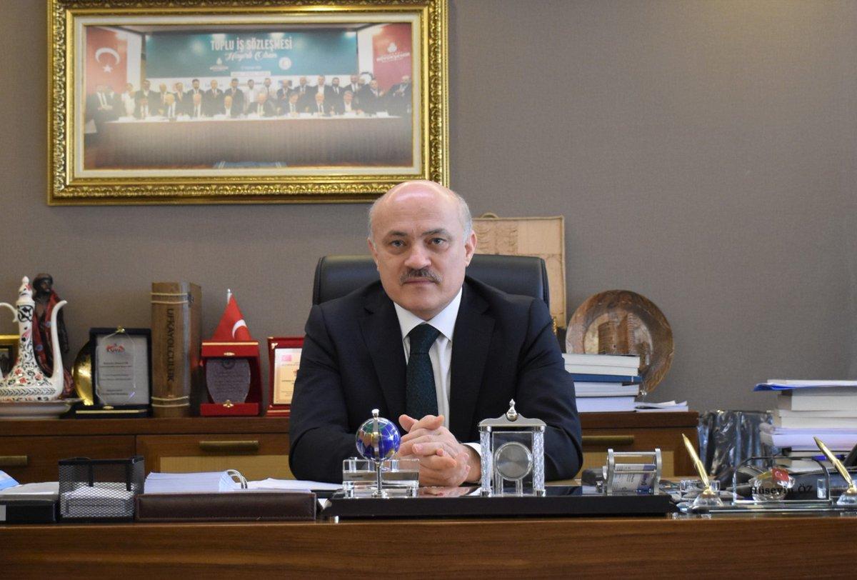 Av. Hüseyin Öz - HAK-İŞ Konfederasyonu Genel Başkan Yardımcısı
